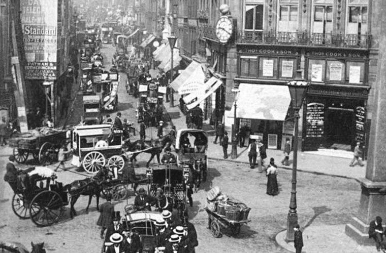 Улицы Лондона, 1860-е годы