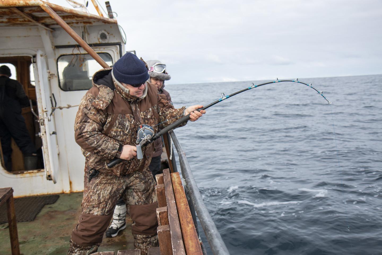 Это не рыбалка - это охота!