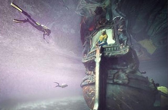 Археологи создали виртуальный тур по затонувшему кораблю