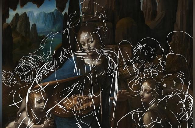 Под картиной да Винчи обнаружено другое изображение