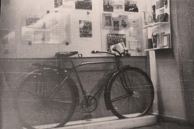 Велосипед Травина выставлен в Псковском музее-заповеднике