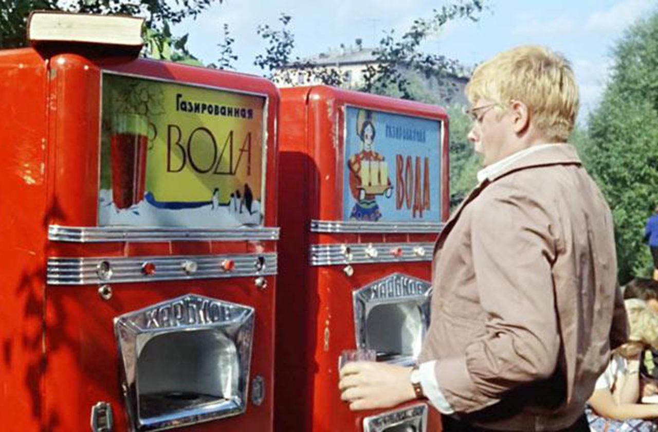 История вещей: вендинговый автомат