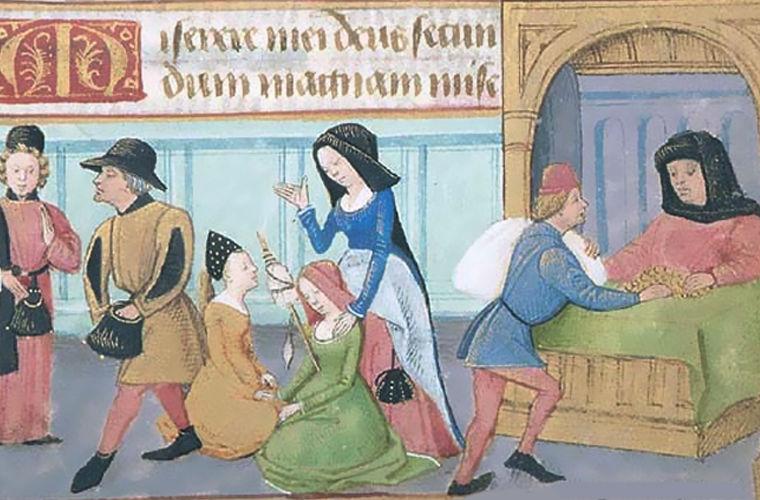 Средневековый часослов