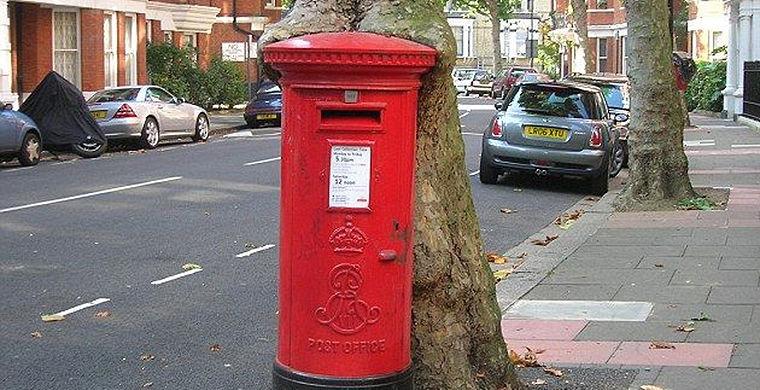 Ящик в плену, Западный Кенсингтон, Лондон, Англия