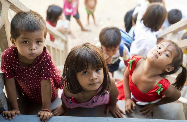 камбоджа дети