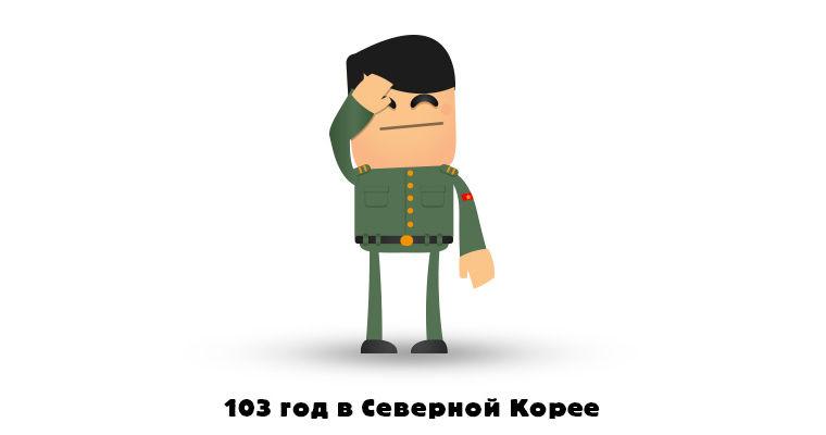 103 год в Северной Корее