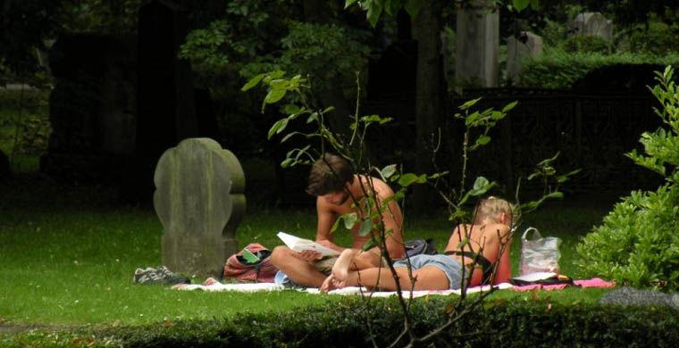 Пикник на кладбище