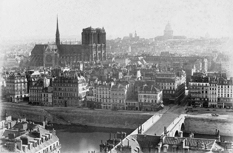 Париж, 1860-е годы