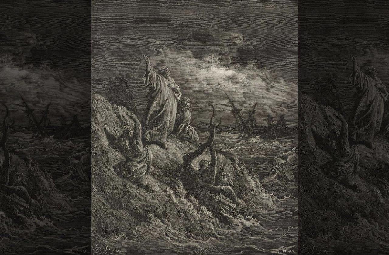 Найдено место кораблекрушения, описанного в Библии