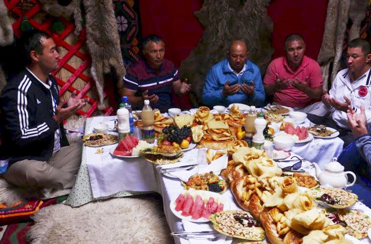 киргизский обед