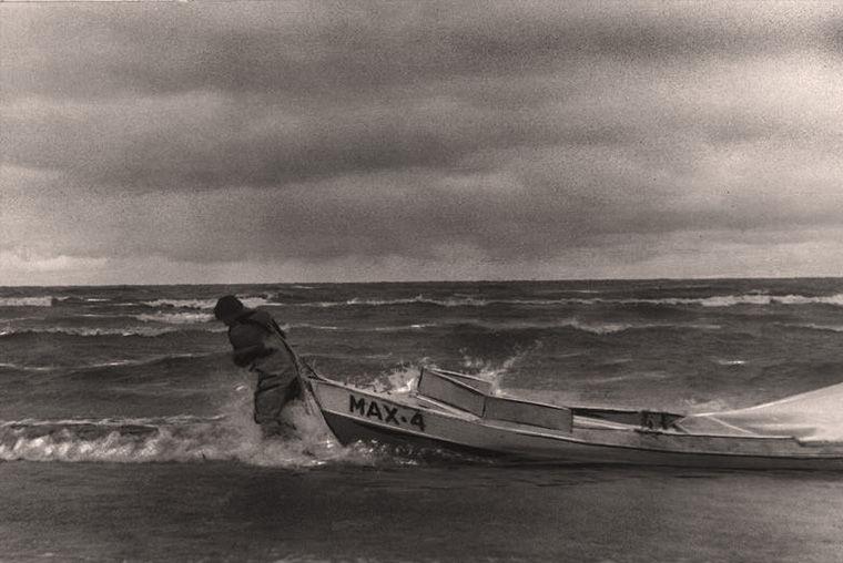 Путешественник Евгений Смургис и его лодка «Мах-4»