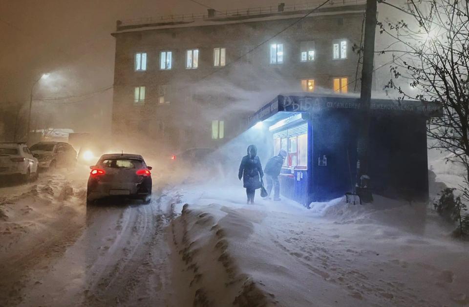 одна суровая зима мурманска в фото певица