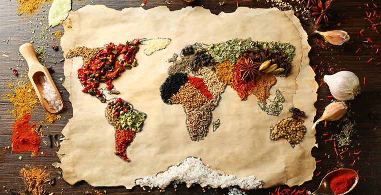 Кулинарный путеводитель по частям света