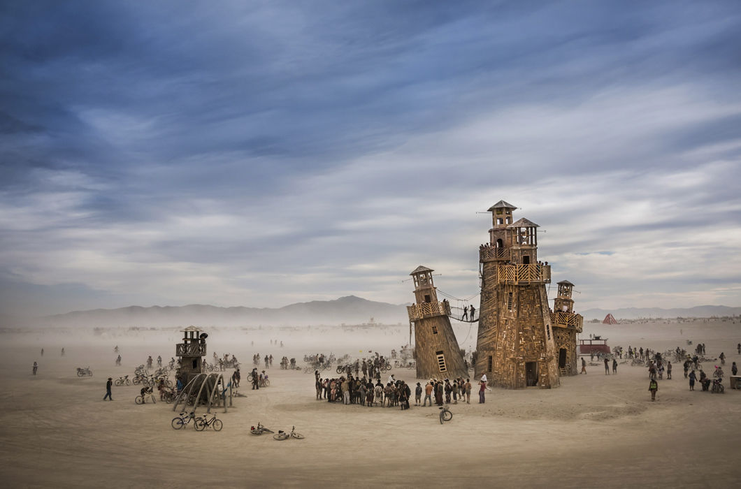Фестиваль Burning Man, США © Tom Stahl