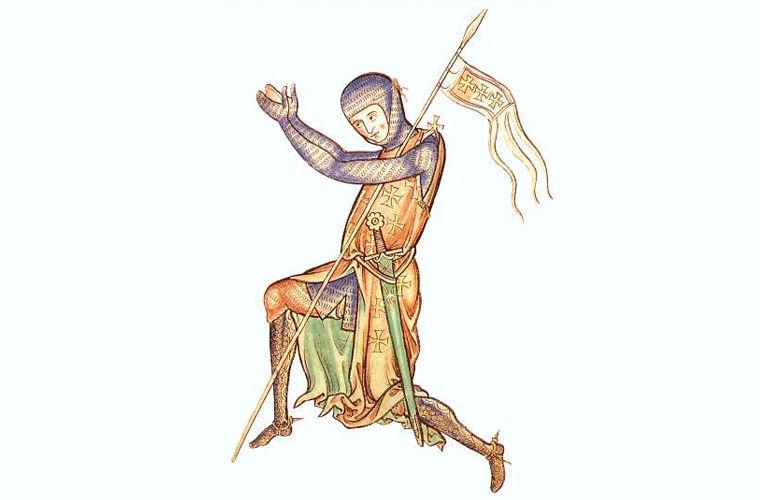 Английский рыцарь XII века. Крестоносцы.
