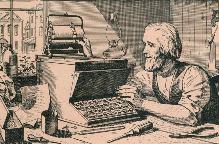 Печатная машинка, Кристофер Шоулз