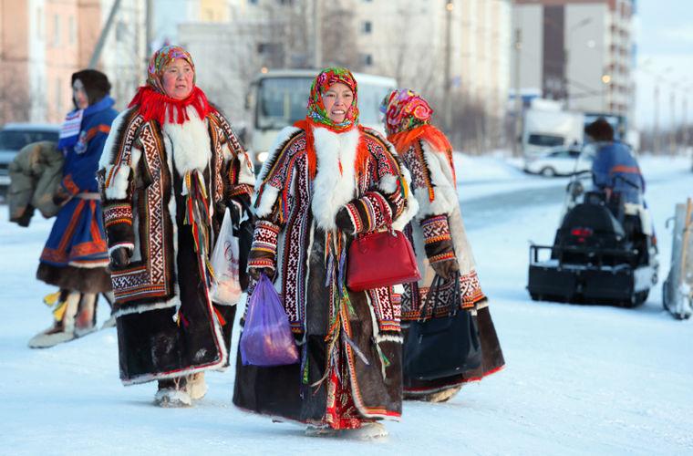Зима на Ямале