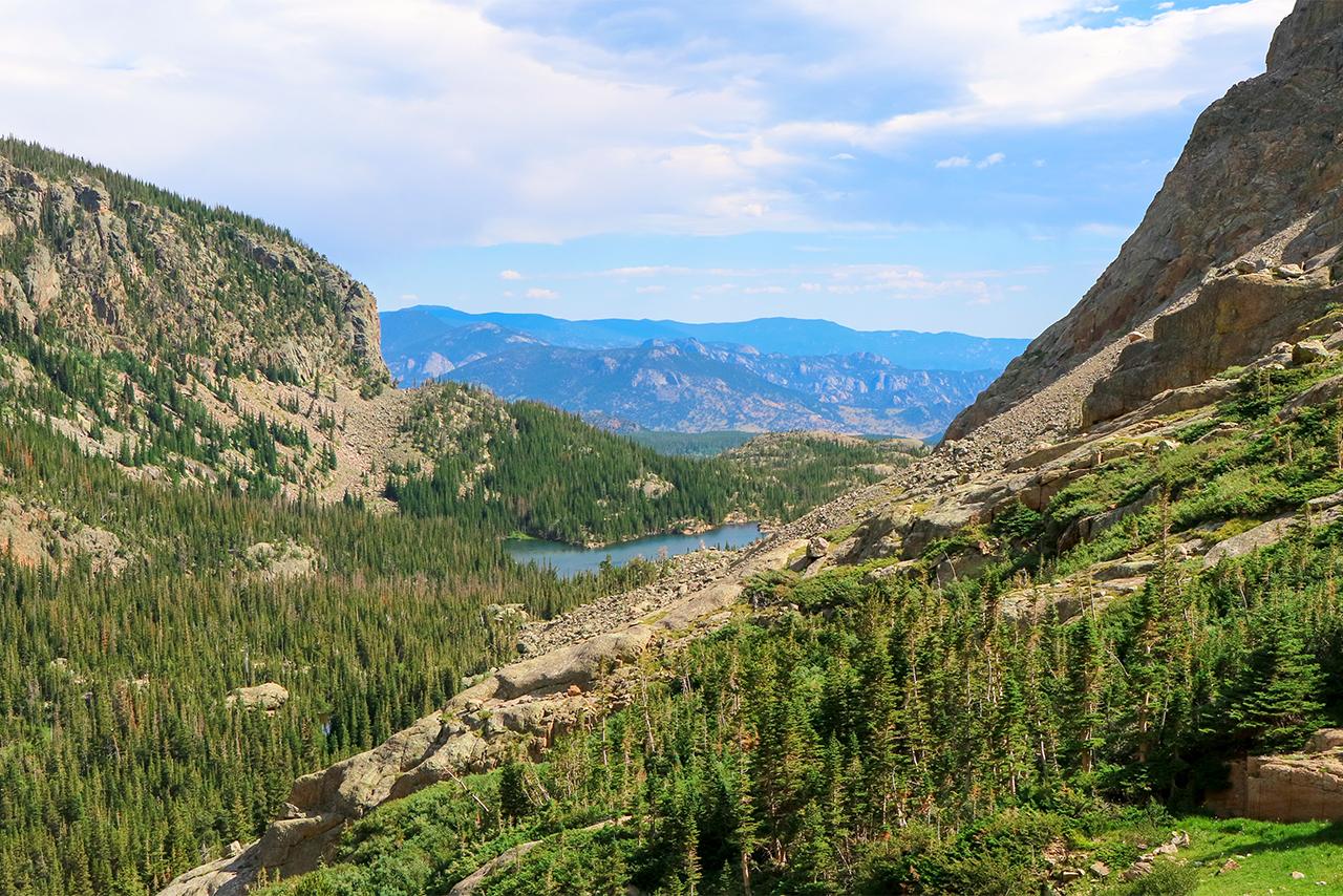 Треккинг в Скалистых горах Колорадо