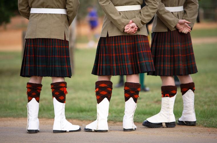 Шотландский килт