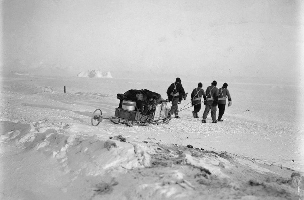 Гибельная экспедиция Роберта Скотта, Антарктида