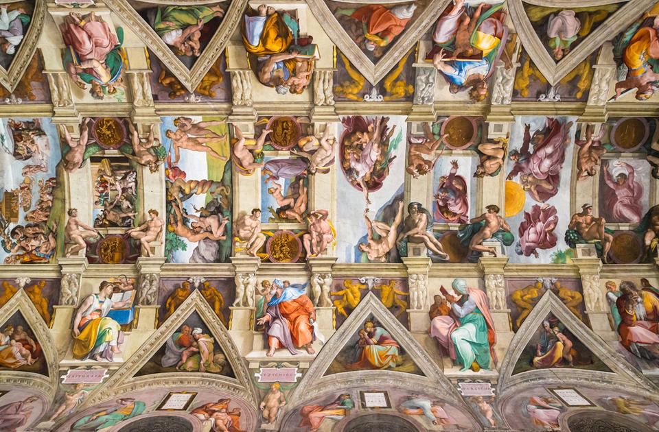 сикстинская капелла фото фресок боттичелли картинку