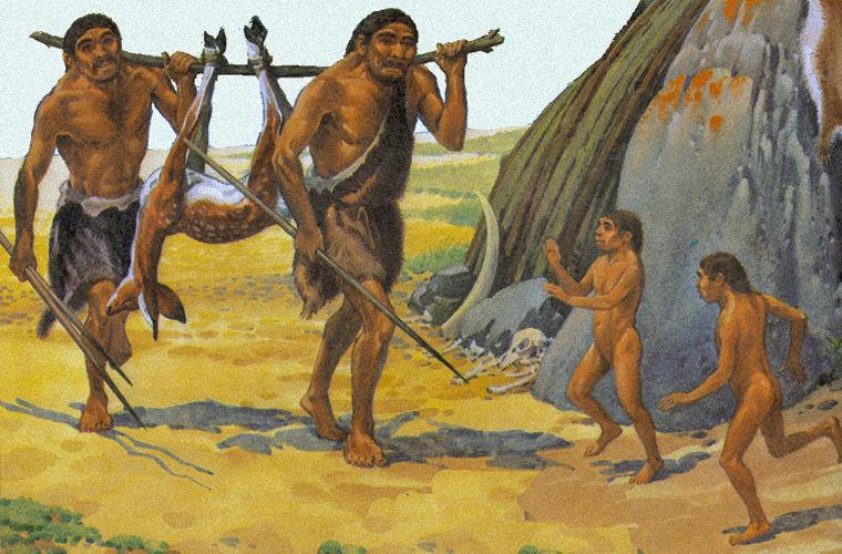Homo после охоты