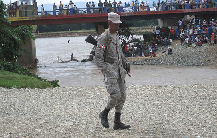 Гаити граница