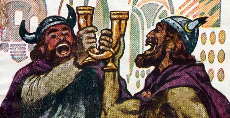 археологи, грог, страны скандинавии, рецепт грога, викинги