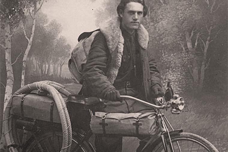 Путешественник, велогонщик Глеб Травин